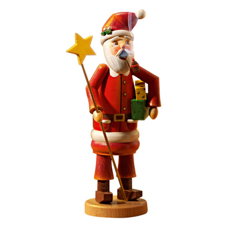 Santa with Star and Gifts