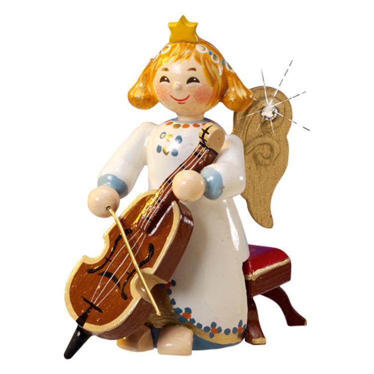 Angel with Bass Violin
