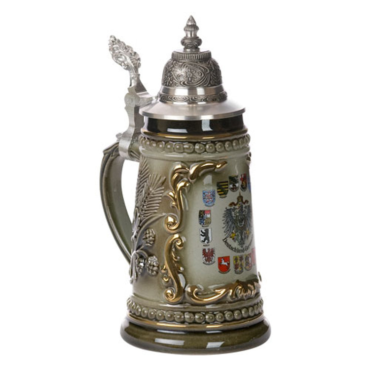 German State Crest Beer Stein