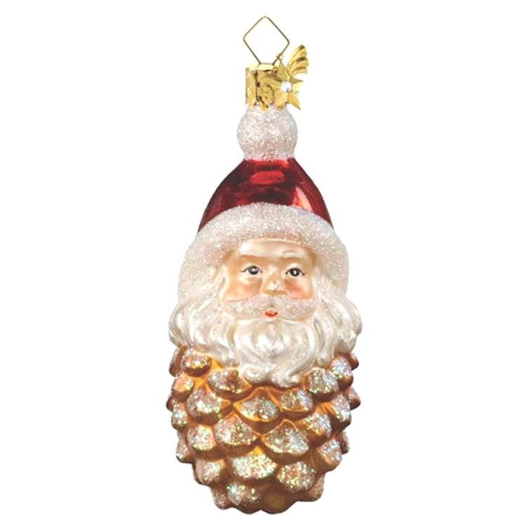 Pine Cone Santa
