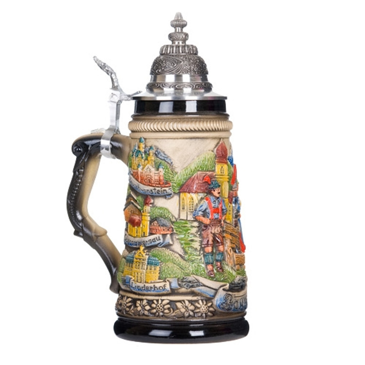 Bavarian Panorama Beer Stein