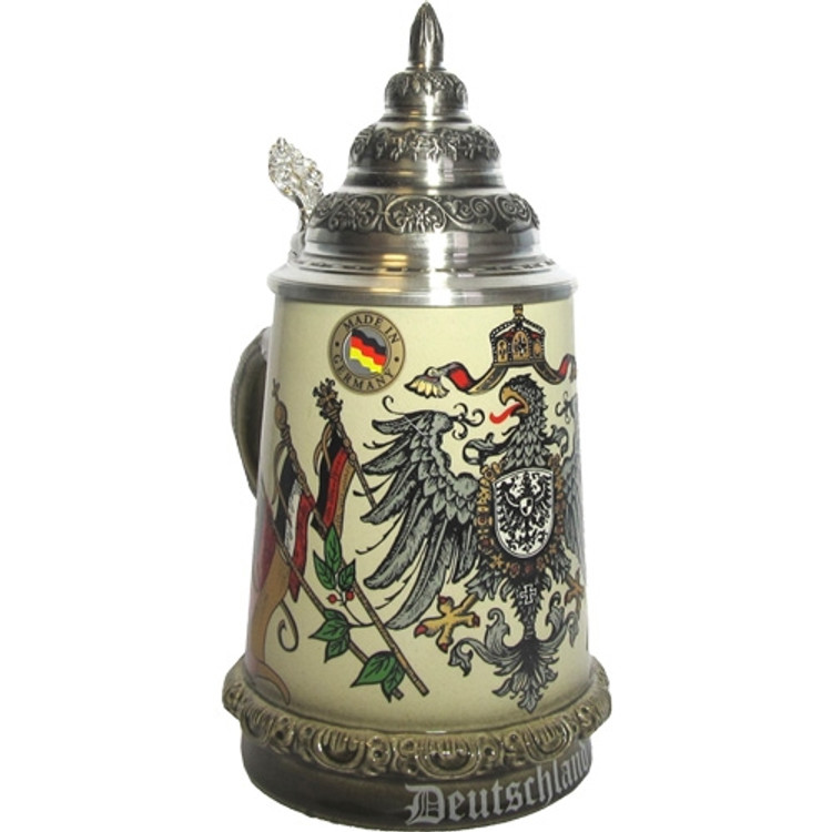 Eagle with Flags Beer Stein