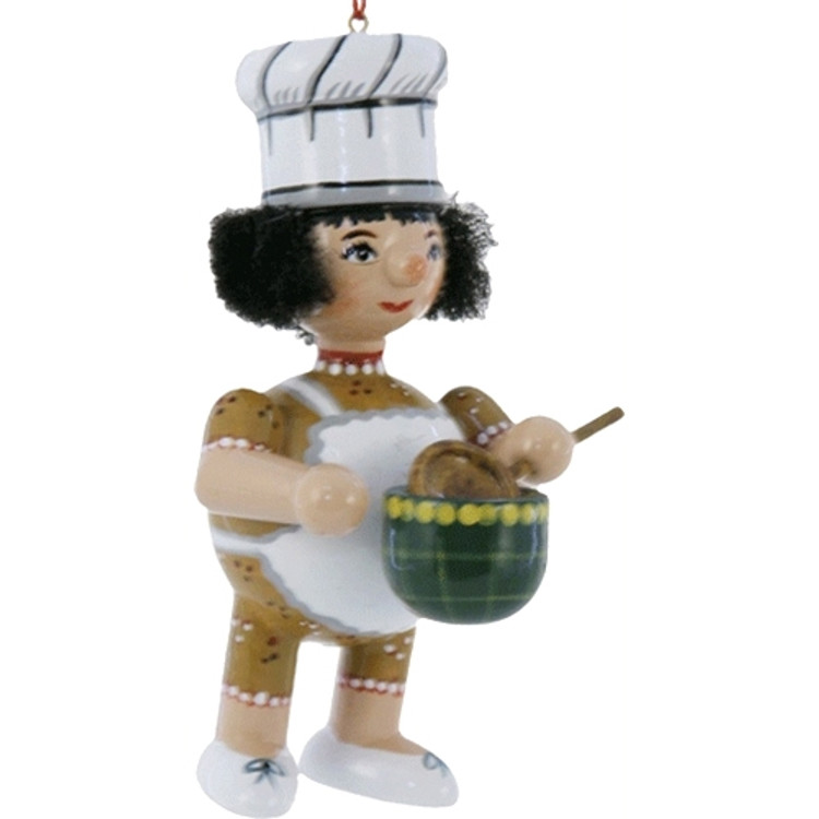 Female Cook with Bowl