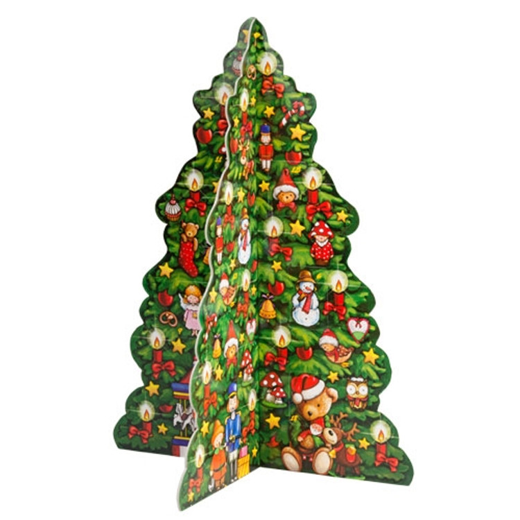 3D Christmas Tree Advent Calendar