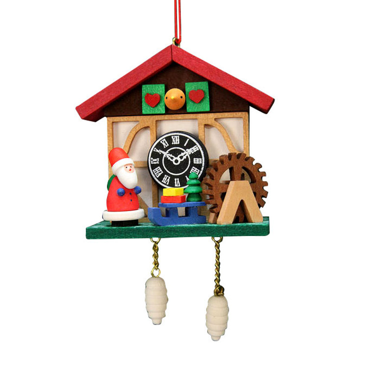 Cuckoo Clock with Santa