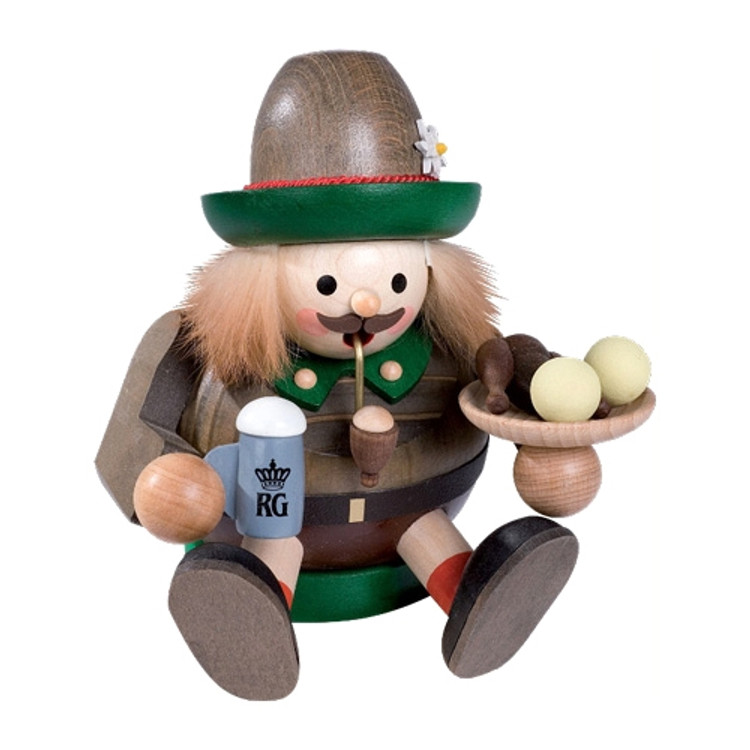 Sitting Bavarian Man