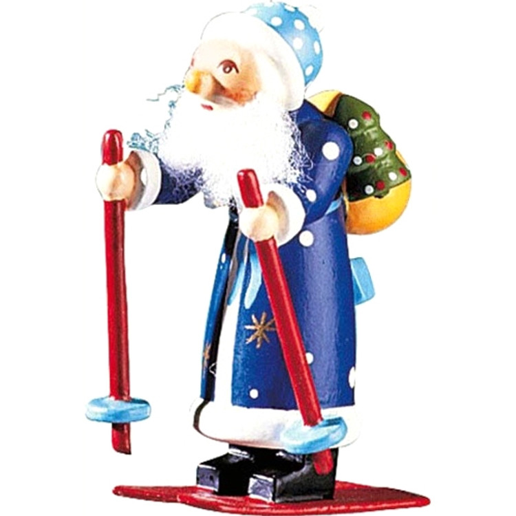 Winter Skiing Santa