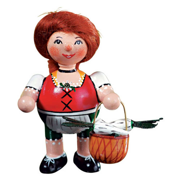 Bavarian Girl with Basket