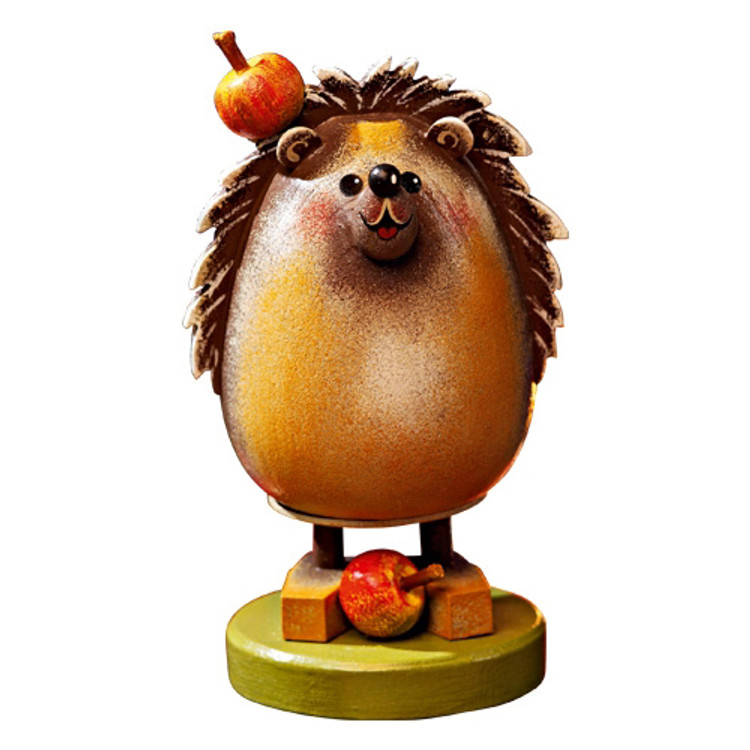 Hedgehog with Apples