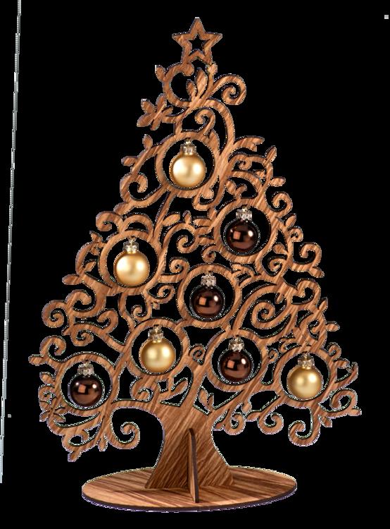 Large Wood Tree