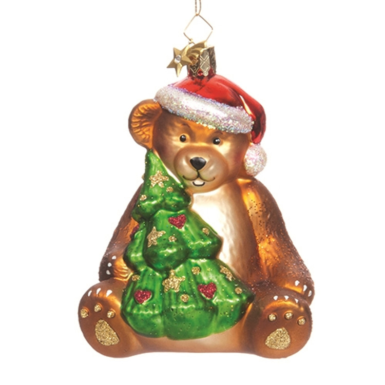 Christmas Bear with Tree