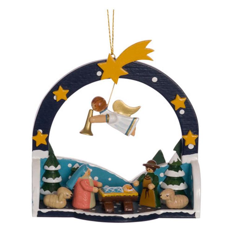 Winter Holy Family