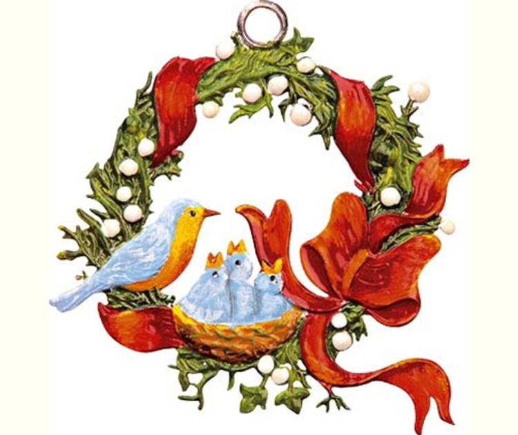 Wreath with Birds