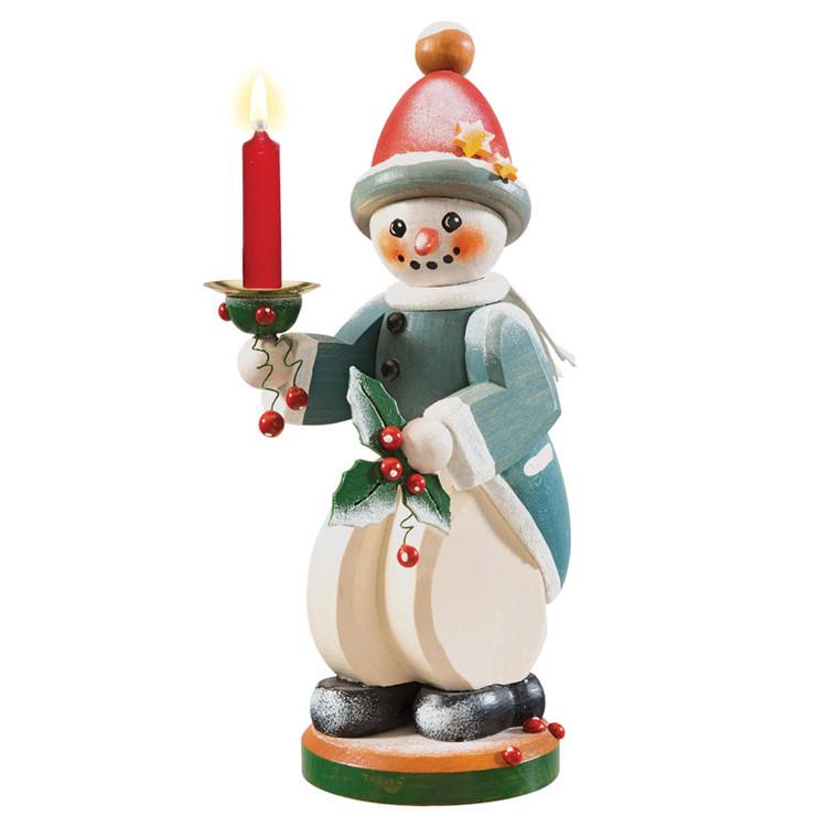 Snowman Candleholder
