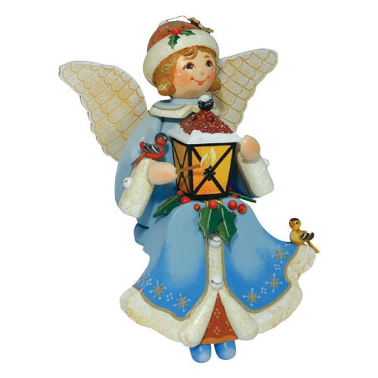 Sitting Angel with Lantern