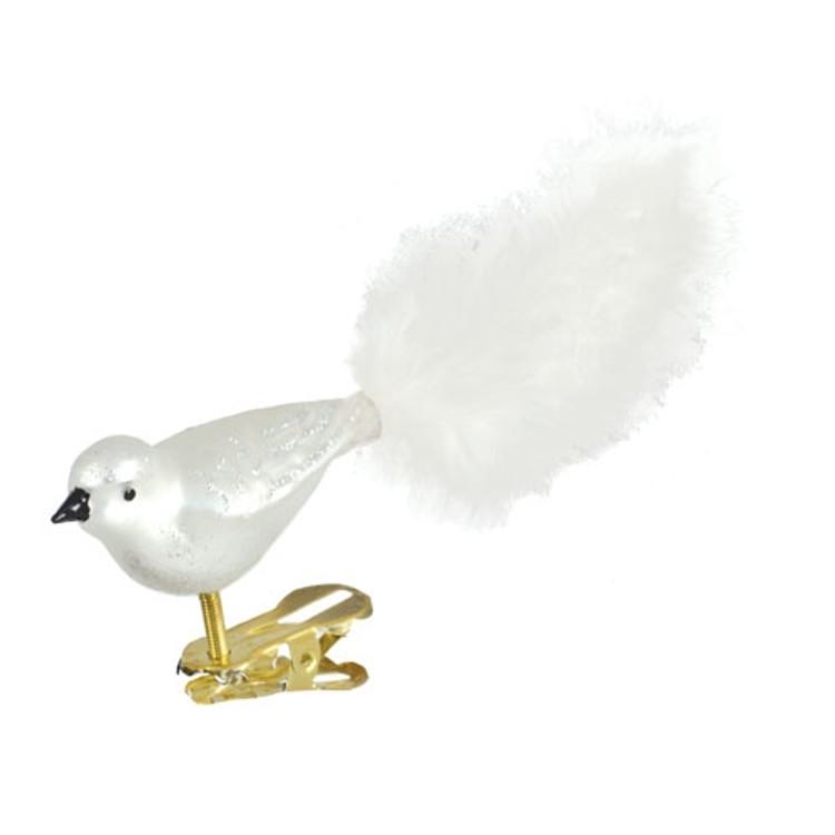 White and Silver Bird