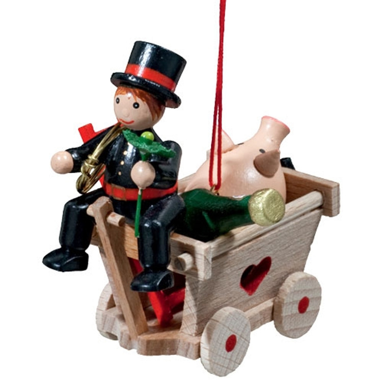 Cart with Chimney Sweep