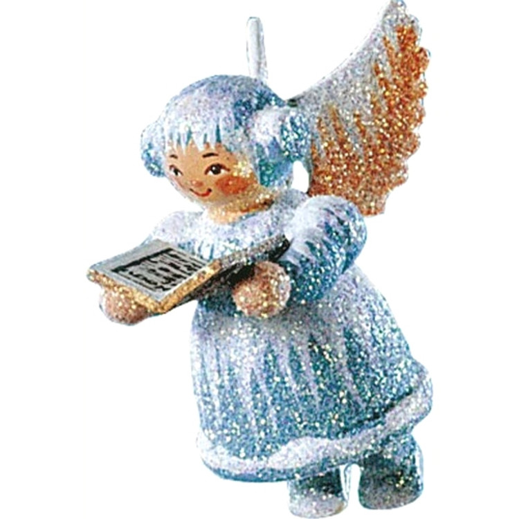 Frosty Angel with Song Book
