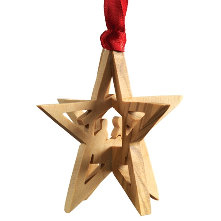 3D Nativity Star