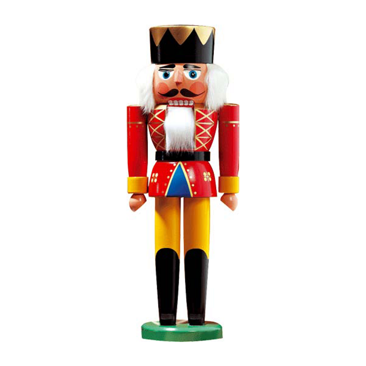 "Nutcracker King 10-1/4""h"