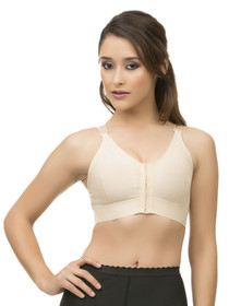 "Sports Compression Bra with 2"" Elastic Band - BR04"