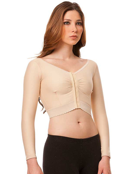 Compression Vest - Short Waisted - Long Sleeve