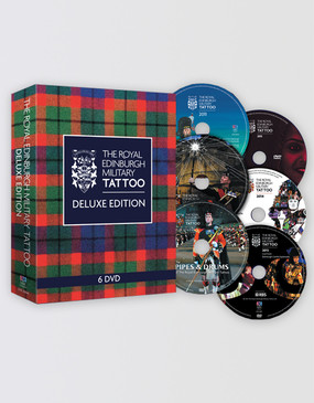 The Royal Edinburgh Military Tattoo  DVD Box Set - Deluxe Edition