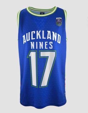 2017 Auckland Nines Mens Basketball Singlet