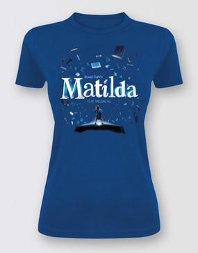 Matilda Full Graphic Tee  Ladies