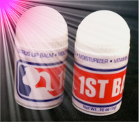 First Base Lip Balm - World's Smallest