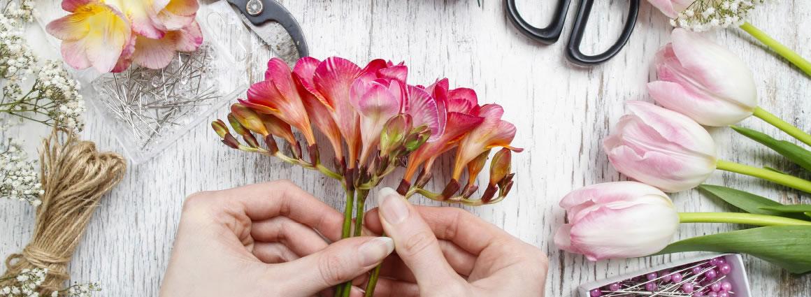 Flower arranging classes