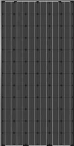 JA Solar JAM5(L)(BK)-72-195/SI 195 Watt Solar Panel Module image