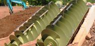 Mann Power Archimedes Screw Hydro Turbine Image