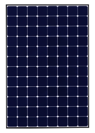 SunPower SPR-E19-235W 235 Watt Solar Panel Module Image