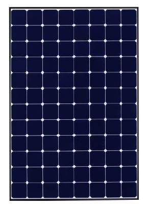 sunpower spr e19 235w 235 watt solar panel modulee. Black Bedroom Furniture Sets. Home Design Ideas