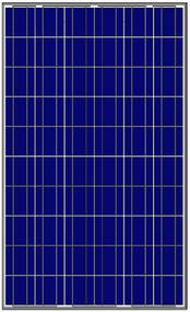 Amerisolar AS-6P30 230 Watt Solar Panel Module