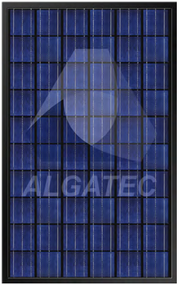 Algatec Solar ASM Poly 6-6 Black 240 Watt Solar Panel Module