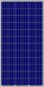 Amerisolar AS-6P 290 Watt Solar Panel Module