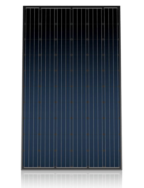 Canadian solar cs6k 265m all black 265 watt solar panel module for Solar installers canada
