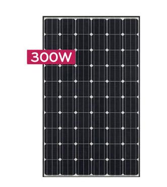lg mono x neon lg300n1c a3 300 watt solar panel module. Black Bedroom Furniture Sets. Home Design Ideas