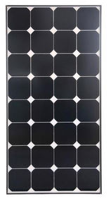 CleverSolar Sunpower cells 100 Watt Solar Panel Module