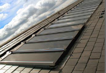 Viridian Solar CV20 Solar Water Heating Panels