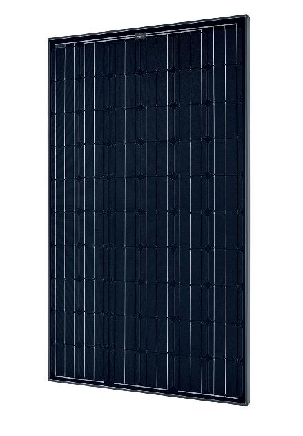 solarworld sunmodule plus sw 285 mono black 285 watt solar. Black Bedroom Furniture Sets. Home Design Ideas