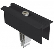 Schletter Rapid Two Plus End Clamp Module Black