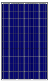 Amerisolar AS-6P30-265W 265 Watt Solar Panel Module