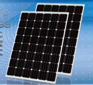 EGING PV EG-225M48-C Black 225 Watt Solar Panel Module