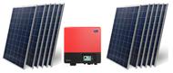 Heckert Nemo 60P 3000 Watt Solar Panel Module Kit
