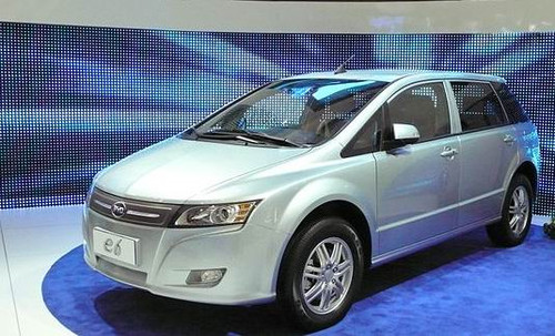 BYD 6e Electric Vehicle Image