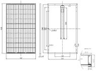 Panasonic Black Frame 285 Watt Solar Panel Module
