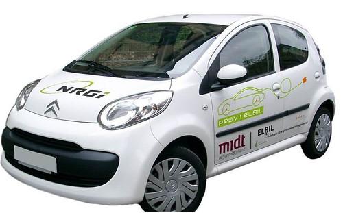 Citroen C1 Ev'ie Electric Vehicle Image